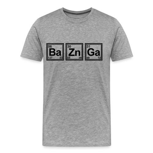 Bazinga TBBT Tshirt Men - Men's Premium T-Shirt