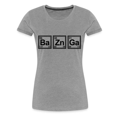 Bazinga TBBT Tshirt Women - Women's Premium T-Shirt