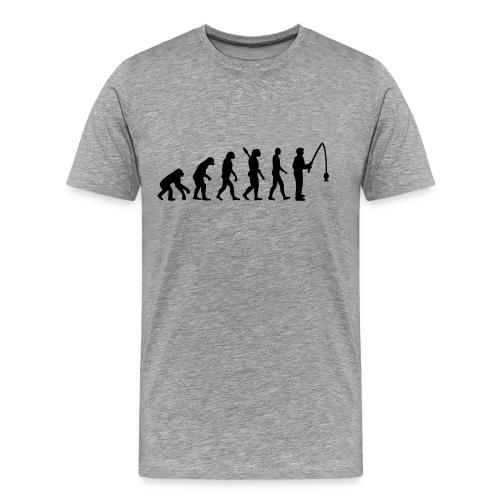 Fishing Evolution - Men's Premium T-Shirt