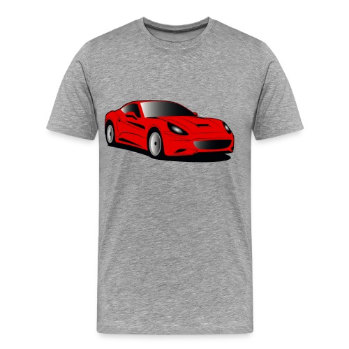Sports Car T-Shirt - Men's Premium T-Shirt
