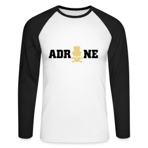 Adrone Vybz Manche Longue - T-shirt baseball manches longues Homme