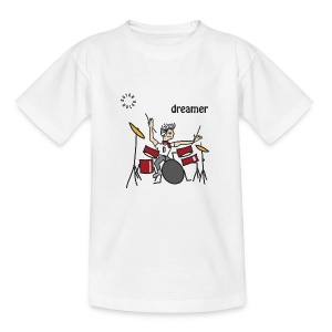 Drums Dreamer T-Shirts - Teenager T-Shirt