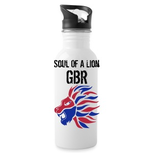 Soul of a Lion GBR Water Bottle - Water Bottle