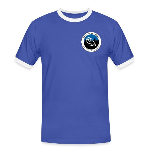 New York Owls Footy (Mens) - Men's Ringer Shirt