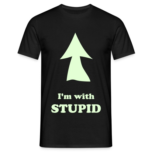 I'm with stupid - T-shirt herr