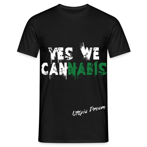 YES WE CANNABIS - HOMME - T-shirt Homme