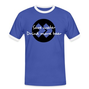 save water - Men's Ringer Shirt