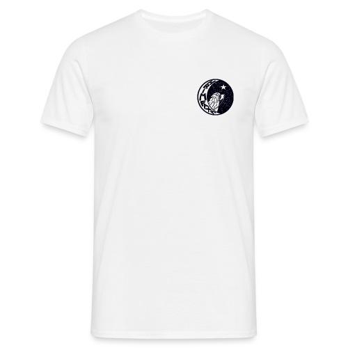 Herre-T-shirt - Tshirt med klassisk Hrimfaxa logo forpå.