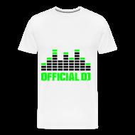 Camisetas ~ Camiseta premium hombre ~ Official DJ