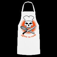 Delantales ~ Delantal de cocina ~ Born to cook