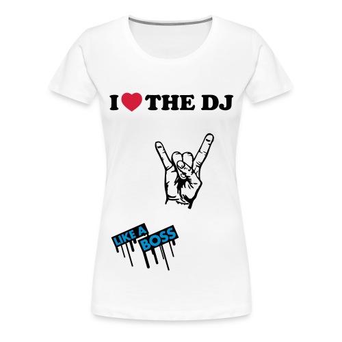 I  - Premium-T-shirt dam