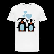 Camisetas ~ Camiseta premium hombre ~ Penguins in Love