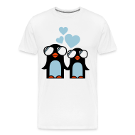 Camisetas ~ Camiseta premium hombre ~ Penguins in Love