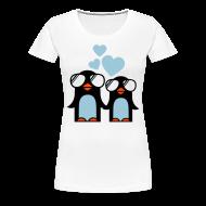Camisetas ~ Camiseta premium mujer ~ Penguins in Love