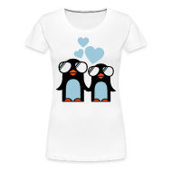 Camisetas ~ Camiseta premium mujer ~ Penguins in Love