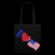 Bolsas y mochilas ~ Bolsa de tela ~ I love USA