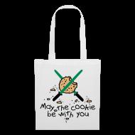 Bolsas y mochilas ~ Bolsa de tela ~ May the cookie be with you (Verde)