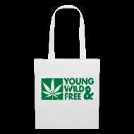 Bolsas y mochilas ~ Bolsa de tela ~ Young and Wild and Free