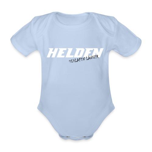 böhse babys Strampler - Helden  - Baby Bio-Kurzarm-Body