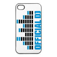 Carcasas para móviles y tablets ~ Carcasa iPhone 4/4s ~ Funda Iphone 4/4S official DJ (azul)