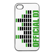 Carcasas para móviles y tablets ~ Carcasa iPhone 4/4s ~ Funda Iphone 4/4S official DJ (verde)