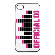 Carcasas para móviles y tablets ~ Carcasa iPhone 4/4s ~ Funda Iphone 4/4S Official DJ (rosa)