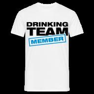 Camisetas ~ Camiseta hombre ~ Drinking Team member azul
