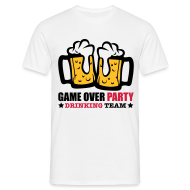 Camisetas ~ Camiseta hombre ~ Game over party