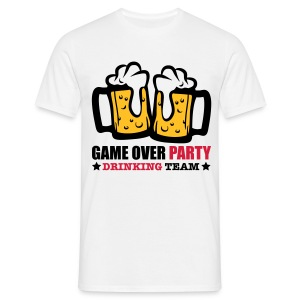Game over party - Camiseta hombre