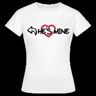 Camisetas ~ Camiseta mujer ~ He's mine