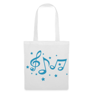 Bolsas y mochilas ~ Bolsa de tela ~ Music Bag