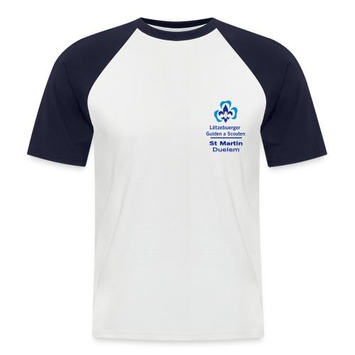 LGS Duelem bicolor vorne - Männer Baseball-T-Shirt
