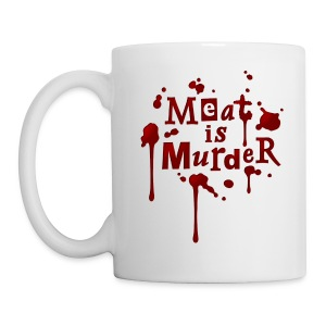 Tasse 'Meat is Murder!' - Tasse