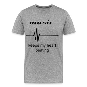 music keeps me alive  - Men's Premium T-Shirt