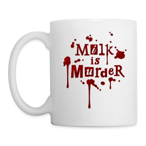 Tasse 'Milk is Murder!' - Tasse
