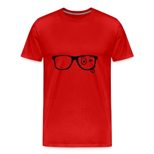 Wearing Glasses - Männer Premium T-Shirt