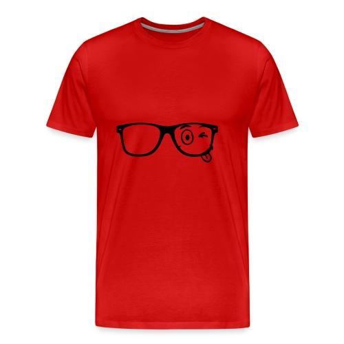 Wearing Glasses - Männer Premium T-Shirt