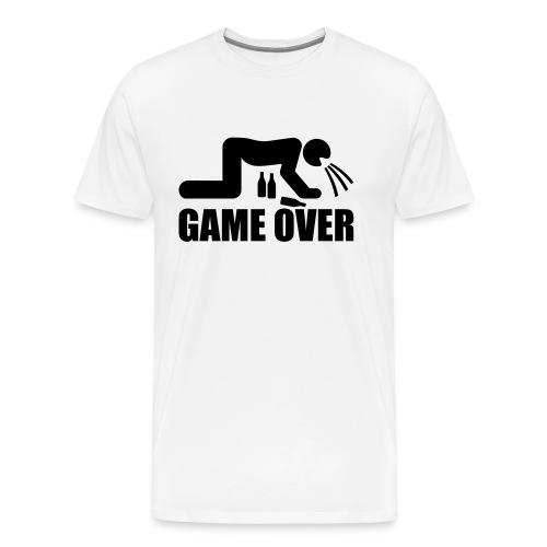 Game Over T shirt - Maglietta Premium da uomo