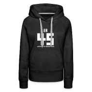 Hoodies & Sweatshirts ~ Women's Premium Hoodie ~ David Leatherhoff Hoodie (Woman) (No stripes)