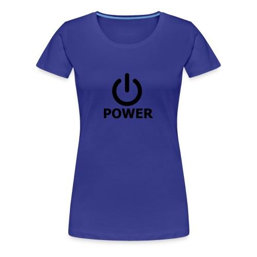 T-SHIRT DONNA POWER - Maglietta Premium da donna
