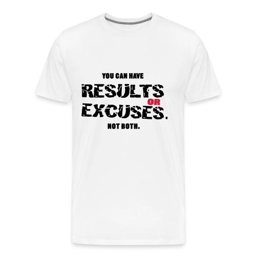 T-SHIRT UOMO RESULTS - Maglietta Premium da uomo