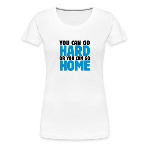 T-SHIRT DONNA HARD - Maglietta Premium da donna