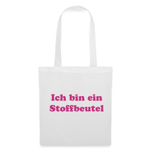 Digital Transfer Tote Bag with Text - Stoffbeutel