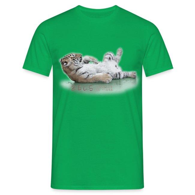 T-Shirt Homme Zeus bébé plage