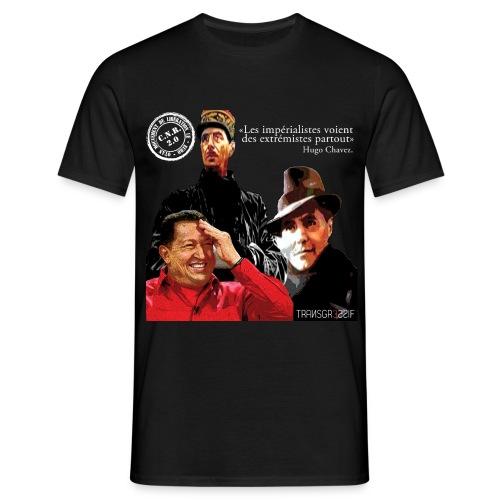 T-SHIRT standard homme fx moulin NOIR - T-shirt Homme