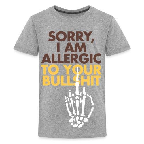T-shirt I'm allergic to your bullshit - Maglietta Premium per ragazzi