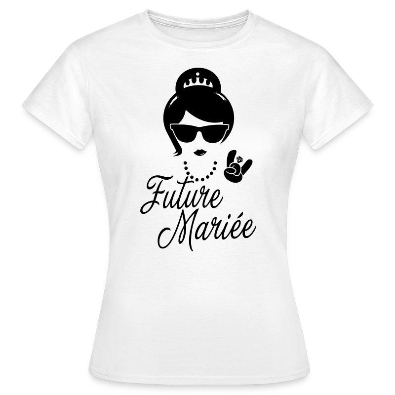 tee shirt future mari e enterrement vie evjf vintage hipster spreadshirt. Black Bedroom Furniture Sets. Home Design Ideas
