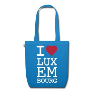 I ♥ Luxembourg - Organic bag - EarthPositive Tote Bag