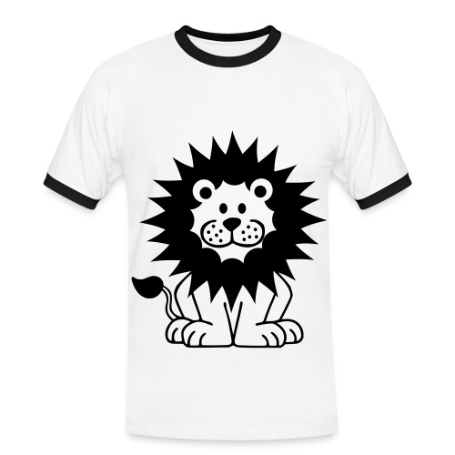 T-SHIRT UOMO LION - Maglietta Contrast da uomo
