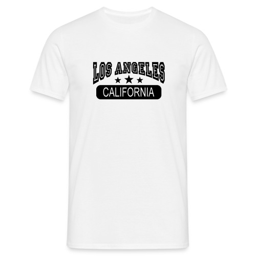 Tee shirt Los Angeles California - T-shirt Homme